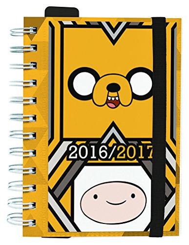 Grupo Erik Editores - diario scuola, giornaliero, 2016/2017, 11,4 cm x 16,5 cm (italiano non garantito) Adventure Time 11.4 x 16.5 cm