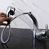 mark8shop Ziehen Flexible Spray Küche Waschbecken Einhebelmischer, chrom schwenkbarer Auslauf Wasserhahn