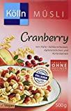 Kölln Müsli Cranberry, 7er Pack (7 x 500 g)