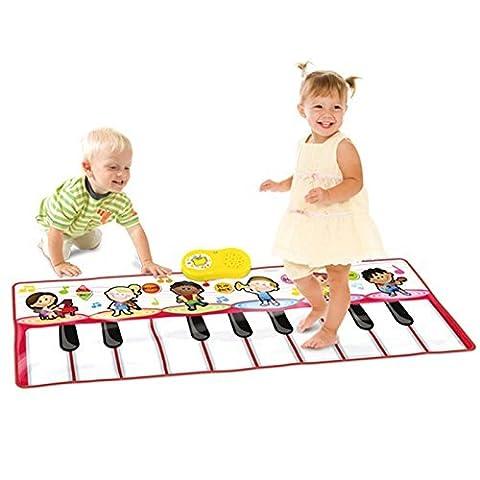 SainSmart Jr. Durable Piano Mat, Tanzen Lernen Playmat, 4 Modi