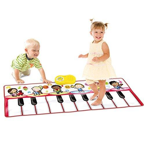 Preisvergleich Produktbild SainSmart Jr. Durable Piano Mat, Tanzen Lernen Playmat, 4 Modi mit 6 Musikinstrumenten Sounds