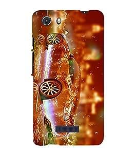 PrintVisa Stunning Fireworkes Classic 3D Hard Polycarbonate Designer Back Case Cover for Micromax Unite 3 Q372 :: Micromax Q372 Unite 3