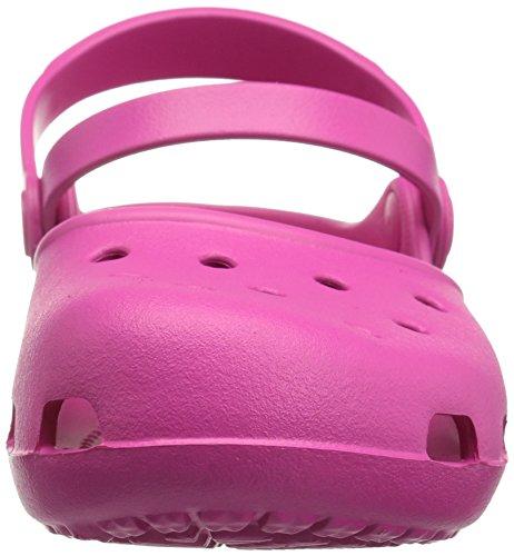 Crocs Karinclog, Sabots Femme Rose (Candy Pink)