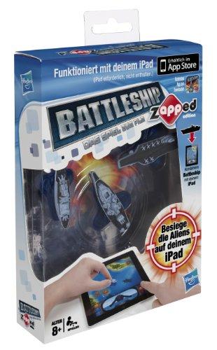 Hasbro A0911100 - Battleship Zapped - spielbar mit iPad, iPhone und iPod Touch 17 Ipod