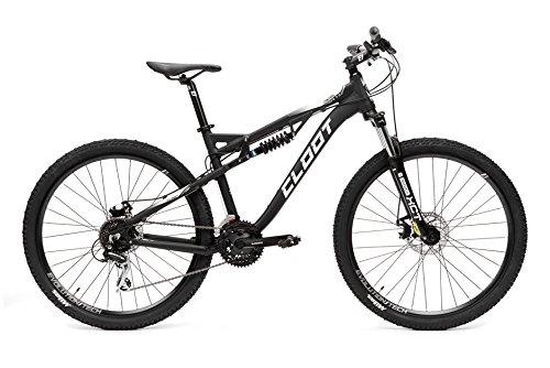 CLOOT Bicicletas de Doble Suspension-Bicicleta Doble 27.5 Control FS 7.0, Shimano Acera 21v con Horquilla XCT y Amortiguador con Rebote y Control de precarga
