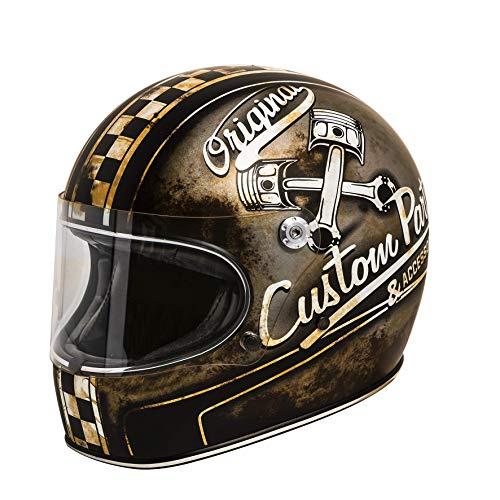 Premier Motorrad Helm Trophy Helm Op 9 Bm Black-M