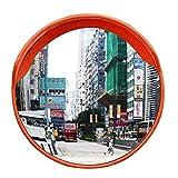 Specchio Convesso di Sicurezza, Specchio Panoramico Specchietto stradale, Specchio convesso da traffico,diametro 30/45/60 cm, per la sicurezza stradale e la sicurezza negozio (30CM)