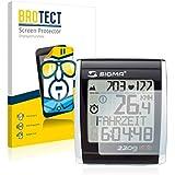 2x BROTECT HD-Clear Protector Pantalla Sigma BC 2209 STS Película Protectora – Transparente, Anti-Huellas