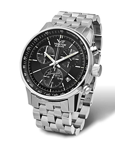 Vostok Europe Gaz 14Grand Chrono Reloj de hombre 5651174de B