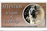 Pets-Easy.com Panneau chien ou plaque Malinois-04 30 cm...