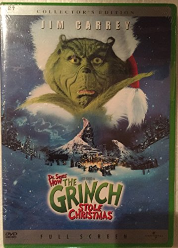 Preisvergleich Produktbild Dr. Seuss' How the Grinch Stole Christmas (Collector's Full Screen Edition)