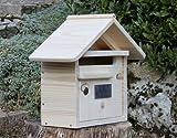 Kurz Briefkasten mit 1Tür maillat Holz