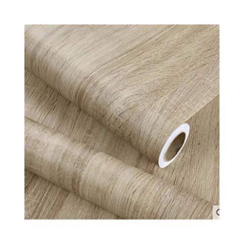 Unterhaltung Schrank Möbel (Tapeten Holzmaserung Aufkleber Kleiderschrank Schrank Tisch Möbel Renovierung Aufkleber Tapete Selbstklebende PVC Wasserdichte Aufkleber (Color : Park wood wallpaper, Dimensions : 80cm x 5m))