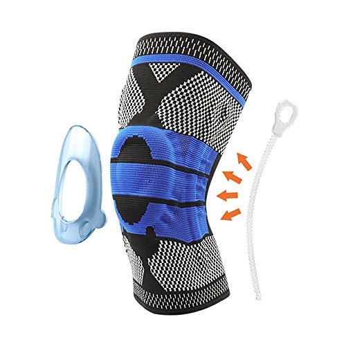 Baby-mädchen-camo 3 Stück (sfycstd Knieschützer Unterstützt Klammer Volleyball Basketball Meniskus Patella Protektoren 3D Weben Silikon 1 stück)