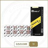 Bobines de rechange Uwell Crown 3 (0,25 ohm (plage de puissance 80 - 90W)), Paquet de 4 têtes - Ne contient pas de nicotine ou de tabac