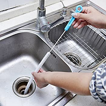 Home & Garden Provided 71cm Flexible Sink Overflow Drain Cleaning Brush Cleaner Kitchen Tool Attractive And Durable Cleaning Products