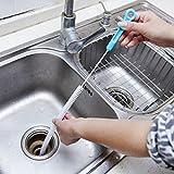 Hemore 71 cm Langer Flexibler Spülbeckenreinigungsbürste für Überlauf, Überlauf, Abfluss, Dredge Reinigungsbürste
