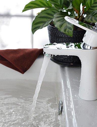 xxw-grifos-de-bao-lavabo-de-colada-shengbaier-contempornea-blanco-cromo-aerosol-acabado-de-latn-un-a