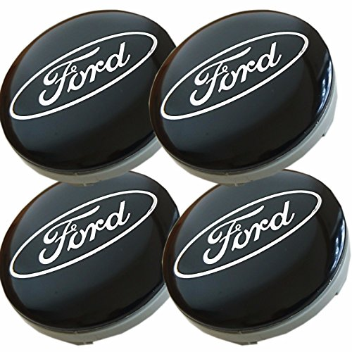60 mm passend f/ür Ford 4 St/ück Blau Aftermarket Aufkleber f/ür Alufelgen