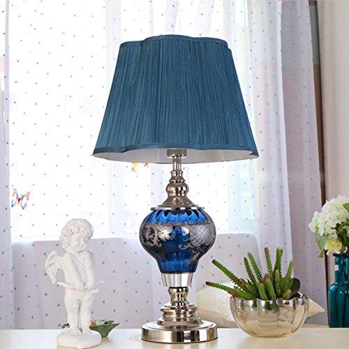 Mediterraner Stil Persönlichkeit Kreative mediterrane Stil Tischlampe Nachttischlampe Warme Dekoration für Schlafzimmer Studium Wohnzimmer Wohnzimmer Dimmen Lampen