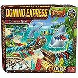 Goliath 80903.012 Domino Express Pirate Treasure Hunt - Juego de efecto dominó, diseño de piratas