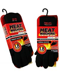 Adults Knitted 1.8 Tog Double Insulated Thermal Gloves by Heat Machine