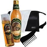Brubaker–Juego de baño cerveza–5piezas–Idea regalo para hombre–con–Neceser de baño, toalla y peine Sexy