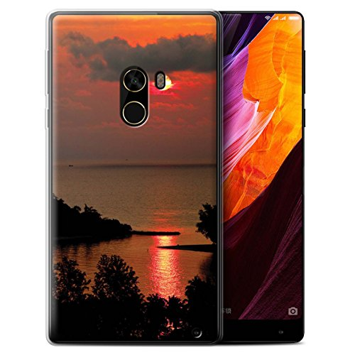 Stuff4 Phone Case/Cover/Skin/oth-gc/Sunset Scenery Collection Sole rosso Xiaomi Mi Mix 2