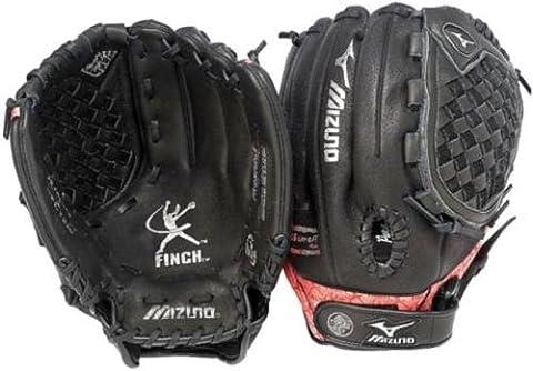 Mizuno Prospect Serie gpl1210Youth Fastpitch Handschuh, schwarz