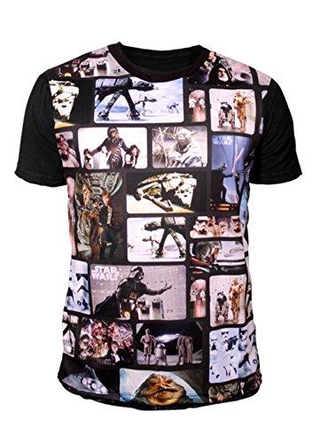 Star Wars - Krieg der Sterne Herren T-Shirt - Film Icons (L)