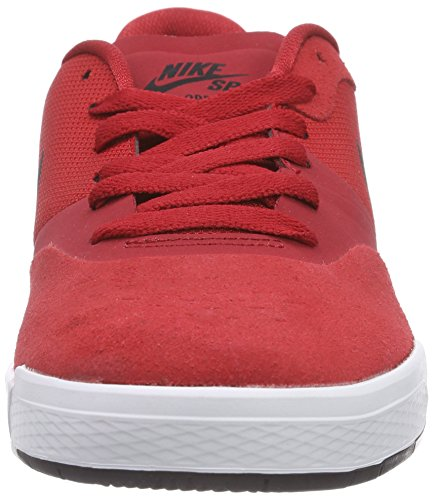 Nike Sb Paul Rodriguez 9 Cupsole, Chaussures de Skateboard Homme Rouge - Rot (Gym Red/Black-White 601)
