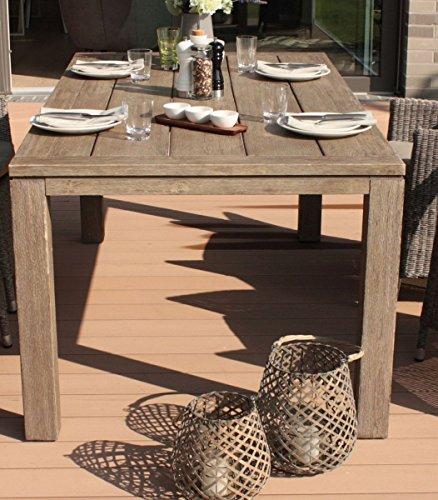 dreams4home gartentisch 39 vinie 39 tisch holztisch esstisch balkontisch terrassentisch. Black Bedroom Furniture Sets. Home Design Ideas