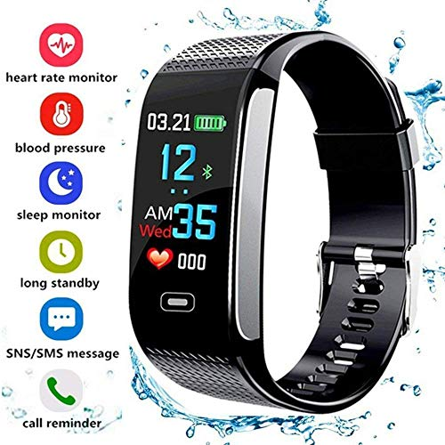 XUWLM Pulsera Smart Watches Fitness Trackers Reloj podómetro con Monitor de presión...