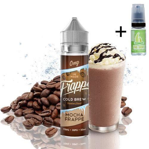 E Liquid Frappe Cold Brew Mocha 50ml - 70vg 30pg -