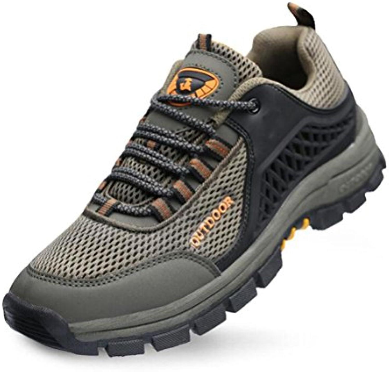 Z&HX sportsZapatos Deportivos al Aire Libre Zapatos Netos Transpirables Antideslizantes Zapatos para Caminar Ocio