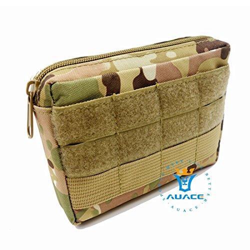 4x 6multifunzione sopravvivenza Gear Tactical marsupio Molle della velcro bag Tactical marsupio, strumento di campeggio esterna portatile di viaggio borse borse borse del sacchetto CP