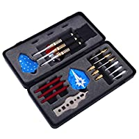 Professional Soft Steel Tip Darts with Aluminum Alloy Shaft Needle Nice Packing Gift Box Darts Set for Bristle Dartboard