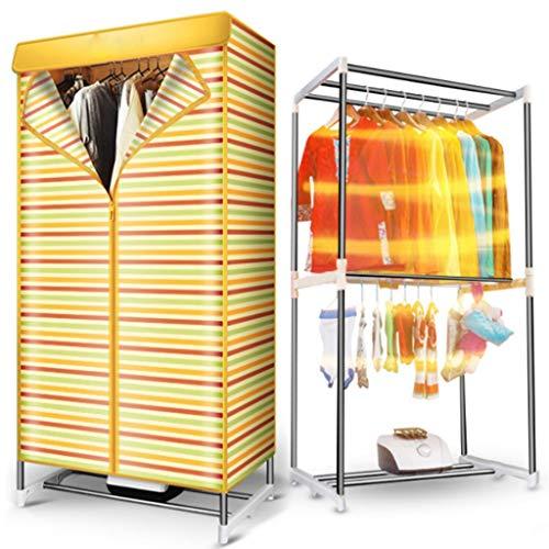 Forwin uk- asciugabiancheria a doppio strato per il risparmio energetico a risparmio energetico domestico -900w stendipanni ad asciugatura rapida ad aria calda