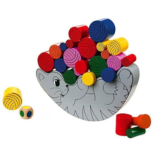 mit Würfel, schult die Konzentration und Geschicklichkeit, für Kinder ab 3 Jahren (Brain Teaser Für Kinder)