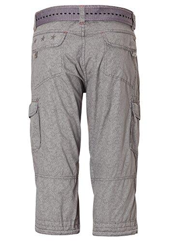 Timezone Herren Shorts Grau (Grey Crystal 8006)