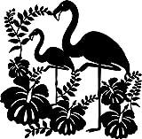 Marabu 028900005 - Silhouette-Schablone Flamingo, 30 x 30 cm