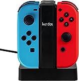Estación de Carga 4 en 1 para los Joy-Con (mandos) de Nintendo Switch con indicador luminoso.