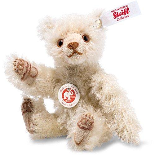 Steiff 006449 Dicky Mini Teddybär Mohair blond 10 CM