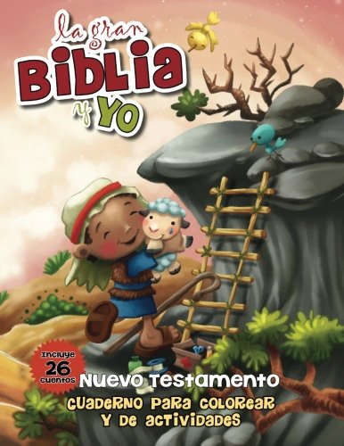 Nuevo Testamento - Cuaderno para colorear y de actividades: La gran Biblia y yo par Agnes de Bezenac