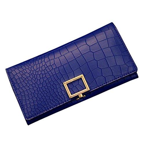 Alikey , Damen Clutch Mehrfarbig mehrfarbig Blau