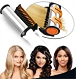 Manya Impex Instyler In Styler Rotating Hot Iron Hair Straightener Style