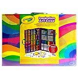 Inspirerende kunstkoffer met kleurpotloden, kleurpotloden en markers - 140 stuks