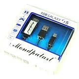 Mondpalast ® Cable MHL de Micro USB a HDMI - HDTV Adaptador para Samsung Galaxy S5 GT-i9600 SM-G900