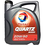 TOTAL Quartz 5000 20W-50 Oldtimer - Motoröl im 4 ltr. Kanister
