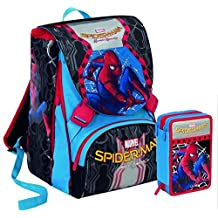 bcbe2b66a8 Zaino Spiderman Homecoming new 2018 - zaino sdoppiabile Big Seven - Pattina  Sfogliabile - 28 Lt